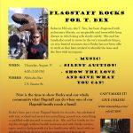 Flag Rocks for Becky McClain