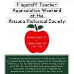 Teacher Appreciation Weekend!