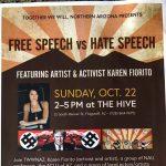 Free Speech vs Hate Speech: featuring Karen Fiorito