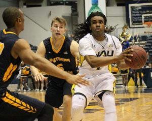 NAU Men's Basketball vs San Diego Christian