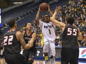 NAU Men's Basketball vs Hampton