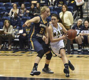 NAU Women's Basketball vs Antelope Valley