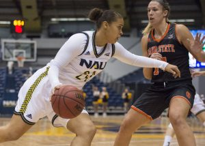 NAU Women's Basketball vs Montana