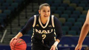 NAU Women's Basketball vs Weber State