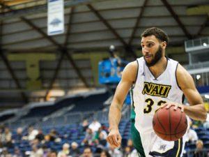 NAU Men's Basketball vs Eastern Washington