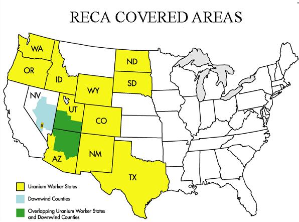 Radiation Exposure Compensation Act Reca Downwinders