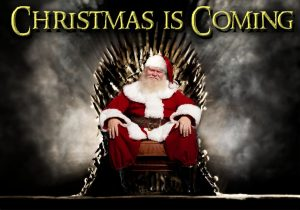 Game of Thrones and Santa!