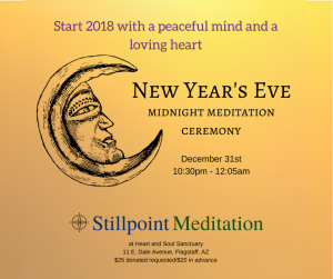 New Year's Eve Midnight Meditation Ceremony