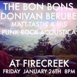 Donivan Berube, the Bon Bons, and Matthew Dupont