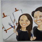 Paint a Caricature Class