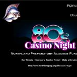 80s Casino Night