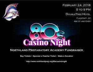 80s Casino Night