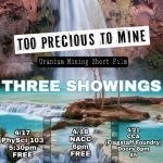 Too Precious to Mine Film Screening