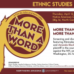 More than a Word Screening and Discussion