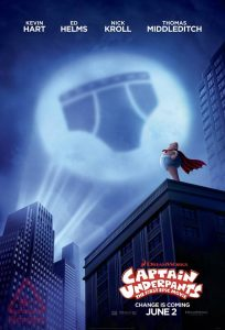 Captain Underpants - Movies on the Square