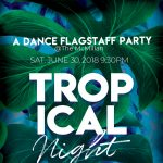 Tropical Night Summer Party