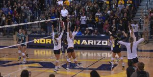 NAU Women's Volleyball VS Northern Colorado