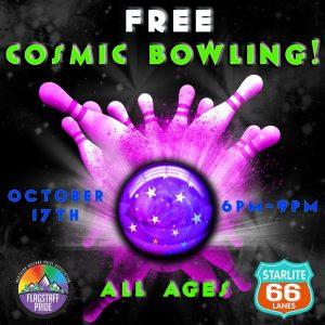 Free Cosmic Bowling