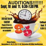 "Auditions for ""9 to 5"""