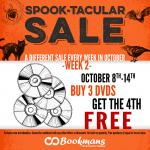 Bookmans Spook-tacular DVD Sale