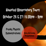 Haunted Observatory Tours