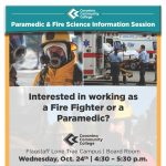 Paramedic and Fire Science Information Session