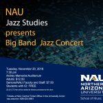NAU Big Band Jazz Concert