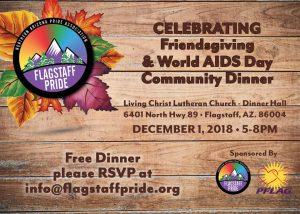 Friendsgiving & World AIDS Day Dinner