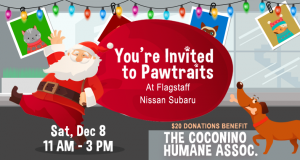 Flagstaff Nissan Subaru's Inaugural Pawtraits Charity Event