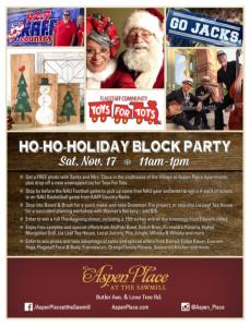 Ho-Ho-Holiday Block Party