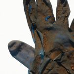 Remnants: Drawings & Photographs of Found Gloves