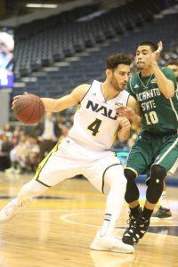 NAU Men's Basketball VS Eastern Washington Univers...