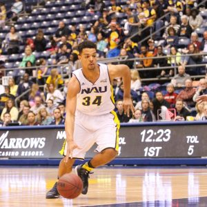 NAU Men's Basketball VS Portland State University