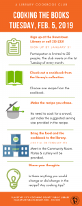 Cooking the Books: A Library Cookbook Club
