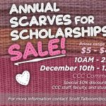 Scarves for Scholarships Sale