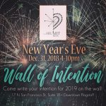 Wall of Intentions New Year's Eve