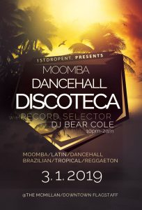 Moomba Dancehall Discoteca with DJ Bear Cole