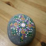 Mandala Rock Painting at Creative Spirits