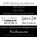 Flagstaff Shakespeare Festival 2019 Auditions