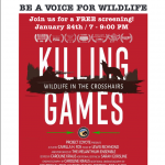 Killing Games: Wildlife in the Crosshairs