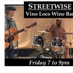 Streetwise Band Rocks Vino Loco