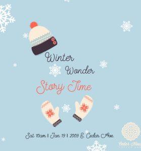 Story Time at Cedar House