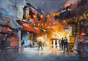 Travel Memories in Watercolor Workshop