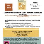Lowdown on Low-Cost Health Services