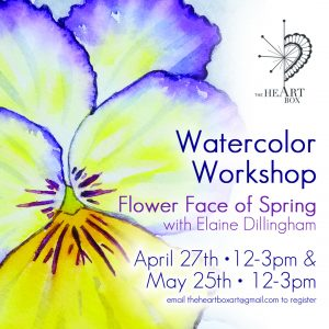 Watercolor Workshop: Flower Face of Spring