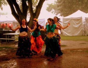 Monsoon Sisters Belly dance at Heritage Square