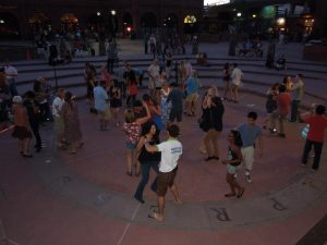 Dancing on the Square