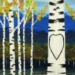Paint the Town - Double Canvas Aspen Love
