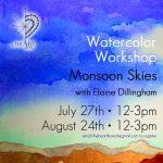 Watercolor Workshop - Monsoon Skies