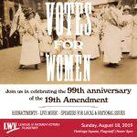 Votes for Women - Celebration of 99th Anniversary of 19th Amendment